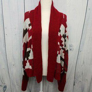 Woolrich Southwest Aztec Pattern Sweater Loose Bat